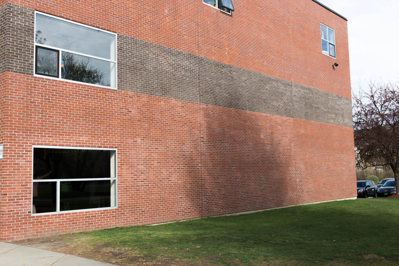 Side of the Rec Center